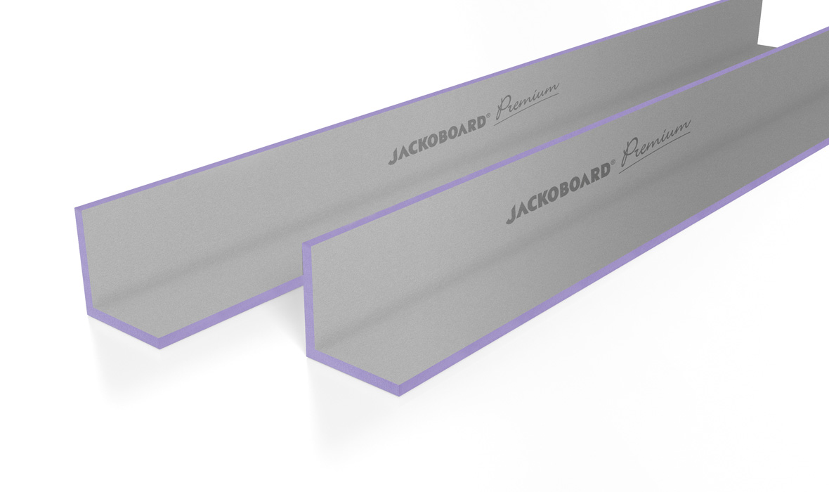 JACKOBOARD<sup>®</sup> Premium products accommodate all options for a perfectly finished surface.